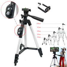 Cell Phone Holder Mount Camera Tripod Stand Bluetooth Remote For Samsung iPhone
