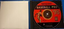 Front Page Sports: Baseball Pro '98 (PC, 1998) Case, Disc # 15389