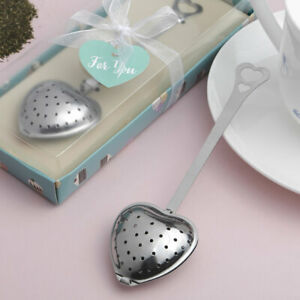 72 heart shaped teas infuser bridal tea party luncheon wedding favors