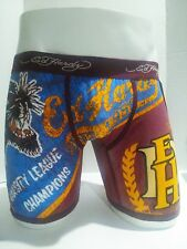 Ed Hardy Men's Underwear Black Panther Print Boxer Briefs Size Small- 10% off