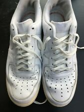 NIKE AIR MAX MENS UK 12 EU 47.5 WHITE TRAINERS RUNNING GYM CASUAL SHOES