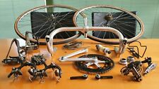 rare 1st. gen. SHIMANO DURA ACE black edition CRANE groupset vintage road bike