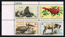 US 1467A = Wildlife Conservation Black Multi Impression ERROR / EFO = MINT VF NH