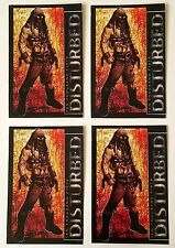 The Disturbed *Ten Thousand Fists* Set of 4 Promo Stickers Decals Sickness *RARE