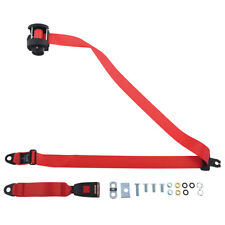 SECURON REAR RED SEATBELT AUTOMATIC RETRACT MULTI VEHICLE FITMENT SBS254RED