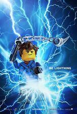 The Lego Ninjago Movie Poster (24x36) - Be Lightning, Blue Ninja, Jay v9