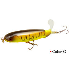 Topwater Floating Fishing Lures Rotating Tail Crankbaits