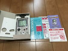 GameBoy Pocket console Gray Color with BOX and Manual