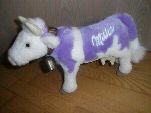 MILKA Kuh mit Glocke Plüschtier Pflüschfigur ca 33 cm Werbefigur Tip Top Toys