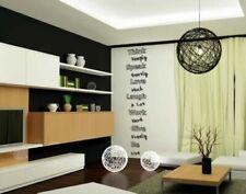 Pegatinas y plantillas de pared extraíbles para el hogar