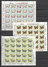 GUYANA, 1983 200 Jahre Luftfahrt 986-1020 Kleinbogen **, (29997)