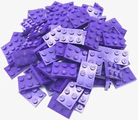 Lego 100 New Dark Purple Plates 2 x 3 Dot Pieces
