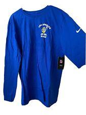 Nike Los Angeles Rams Long Sleeve Shirt Rare Artist Series XL