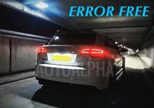 AUDI A3 8P S3 8PA LED XENON WHITE NUMBER PLATE LIGHT BULBS ERROR FREE A4 A5 A6