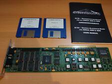 phase 5 Cybervision 64 Grafikkarte mit Handbuch für Amiga 3000 // Amiga 4000