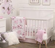 Nojo Dreamer Watercolor Floral   5 Piece Nursery Crib Bedding Set - See Details