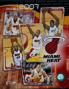 Miami Heat 2006-07 Team Composite NBA Licensed Unsigned Glossy 8x10 Photo A5