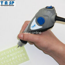 TASP 13W Electric Engraving Pen for Metal Wood Plastic, Glass Carbide Steel Tip