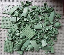 LEGO BUNDLE 310G SAND GREEN CLEAN GENUINE BRICKS/PARTS/PIECES