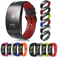 Für Samsung Gear Fit 2 /Pro SM-R360 R365 Silikon Armband Ersat Wrist Band Straps