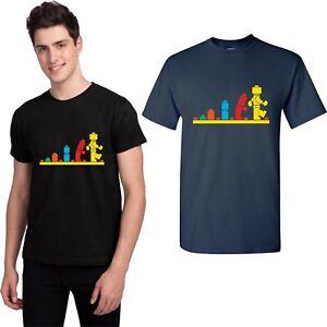 Evolution of Lego T Shirt Autism Lego Legolution T Shirt Kids & Adults Tee Top