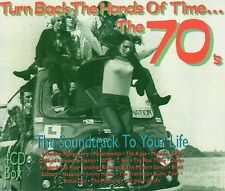 Turn Back The Hands Of Time... The 70's - Various Artists (CD 1992) Original CD