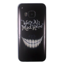 Alice in Wonderland Cheshire Cat Ultra Slim TPU GEL Case Cover for HTC One M9