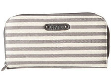Dakine Lumen Maria Zip Wallet Purse Size Women's Wallet Gray Stripe