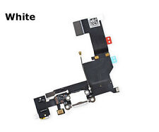 FOR iPhone 5S Lightning Charging Dock Jack Headphone Flex Cable Connector White