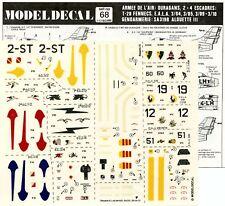 Model Decal 1:72 Armee De L'air Ouragans 2+4 Escadres #68