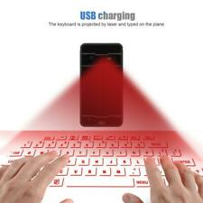 Wireless Bluetooth Laser Projection Virtual Keyboard For PC Tablet Laptop New