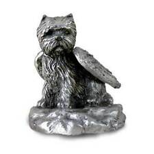 Pewter WESTIE TERRIER Angel Dog Figurine Set Lot of 12