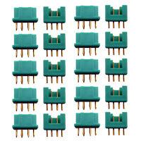 MPX Stecker Buchse 10 Paar Hochstromstecker Multiplex Style 6 Pin Polig 35A RC