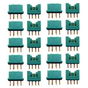 MPX Stecker Buchse 10 Paar Hochstromstecker für Multiplex 6 Pin Polig 35A RC