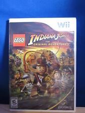 Wii Indiana Jones The Original Adventures Video Game