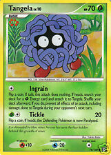 Pokemon Card TANGELA Diamond & Pearl Stormfront 78/100 - Mint / Near Mint