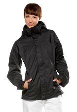 Women's Oakley Swervy Curve Shell Snow Ski Snowboard Jacket Black Size XS