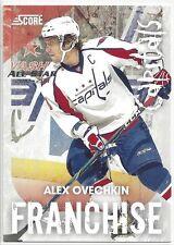 2010-11 SCORE ALEX OVECHKIN FRANCHISE #1/5  WASHINGTON CAPITALS 500+ GOALS - 1/1