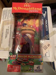 McDonald's McDonaldland Mayor McCheese Huckleberry Toys  -  NEW -  FREE SHIPPING