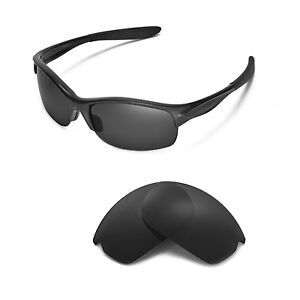 New Walleva Polarized Black Replacement Lenses For Oakley Commit SQ