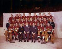 Chicago Blackhawks 1959-60 NHL Season Team 8x10 Photo