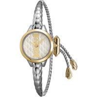 Orologio JUST CAVALLI mod LOGO BANGLE ref JC1L034M0065 donna acciaio braccialato