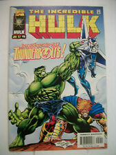 Marvel INCREDIBLE HULK #449 (1997) 1st Appearance of the Thunderbolts