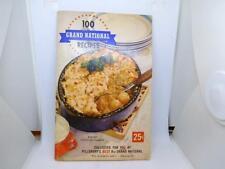 1956 Cookbook- Recipes-100 Grand National Recipes Pillsbury's 8th Grand National