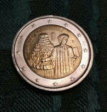 2 € EURO Italia - Dante Alghieri 2015  - Circolati
