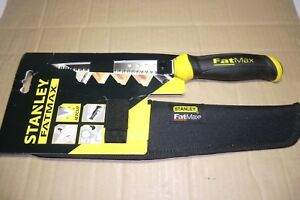 STANLEY FATMAX PLASTERBOARD SAW WITH HOLSTER NEW