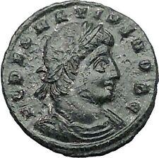 DELMATIUS Dalmatius 335AD Roman Caesar  Ancient Coin Soldiers Legions  i55536