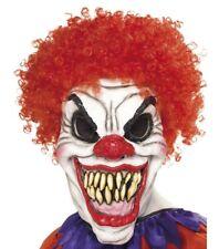 Vestito per Halloween Horror Spaventoso Maschera da Clown Testa Intera Ref 35710