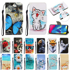 For Samsung Galaxy A10 A21S A30 A51 A71 Case Flip Painted PU Leather Wallet Skin