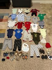 39 Piece Lot Boys 3-6 Month Very Good Condition
